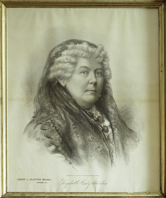 elizabeth cady stanton and her cry for womens freedom Women's history month: the legacy of the fight over the 15th amendment  women's rights activist frederick douglass against elizabeth cady stanton and.