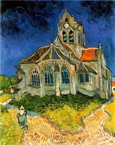 Van Gogh-church-at-auvers-1890.jpg!Large