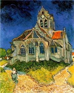 Van Gogh-church-at-auvers-1890.jpg!Large