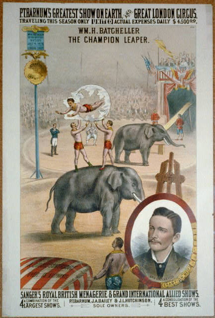 Barnum circus poster