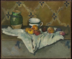cezanne fruit still life