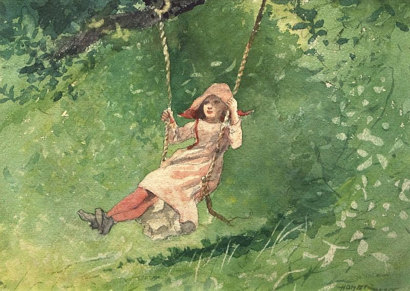 swing winslow-homer-