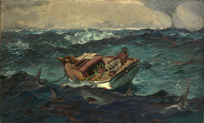 The Gulf Stream Winslow Homer