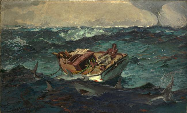 The Gulf Stream Winslow Homer