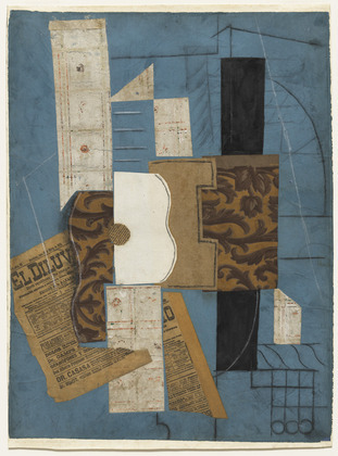 Picasso_collage Guitar