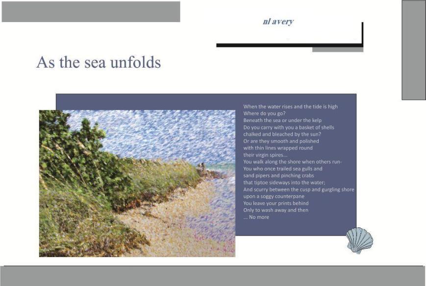 Seashore Postcard