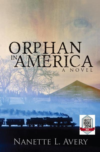 Orphan in America front cover_with badge