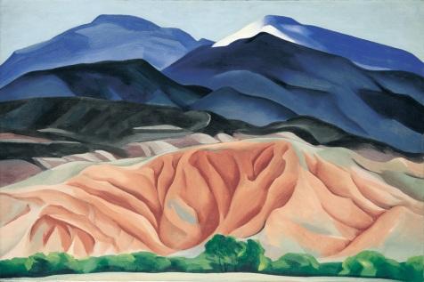 Georgia O'Keefe landscape