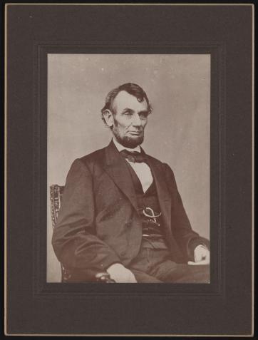 Lincoln by Brady