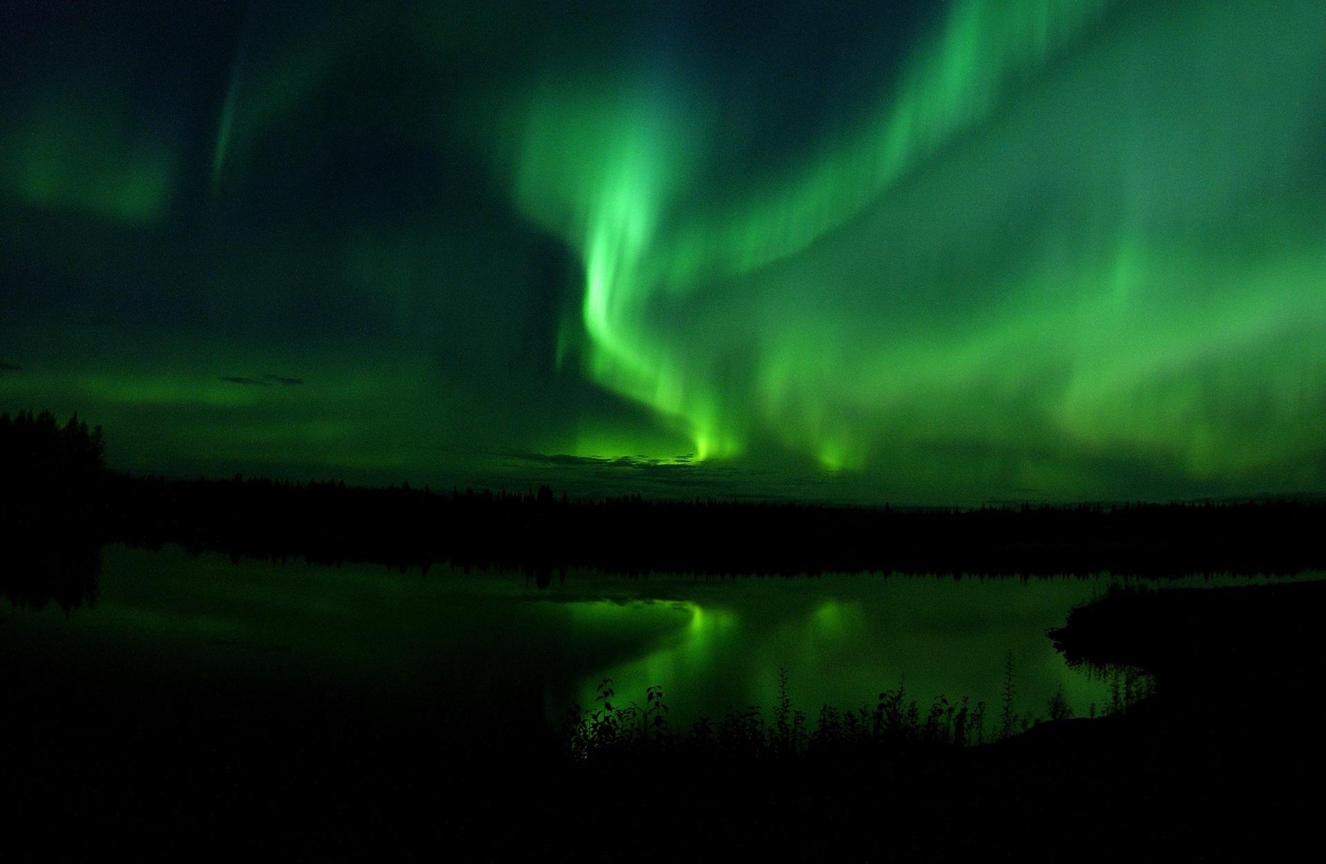 Aurora Borealis; the Northern Lights.